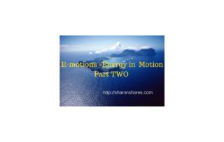 E-motions=EnergyInMotionPartTwo